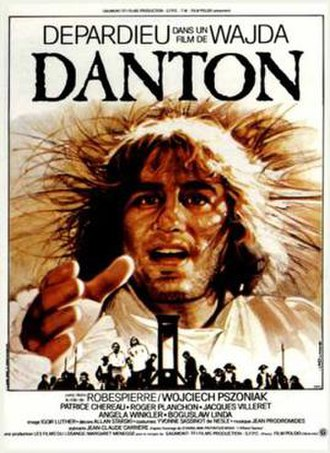 Danton (1983 film) - Film poster