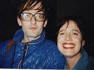 Deborah Bone - Bone (right) and Jarvis Cocker.