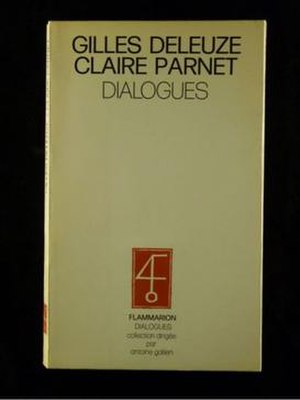 Dialogues (Gilles Deleuze) - Cover of the first edition