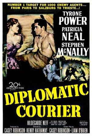 Diplomatic Courier - Film poster
