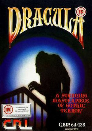 Dracula (1986 video game) - Image: Dracula 1986