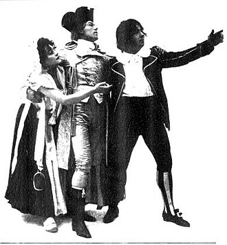 The Duchess of Dantzic - Evie Greene, Lawrence Rea and Courtice Pounds, Act I