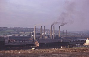 Dunston, Tyne and Wear - Dunston Power Station, 1971