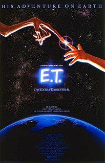 <i>E.T. the Extra-Terrestrial</i> 1982 American science fiction film directed by Steven Spielberg