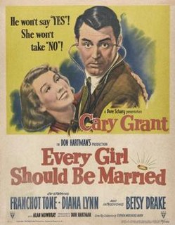 <i>Every Girl Should Be Married</i> 1948 film by Don Hartman