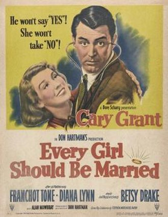 Every Girl Should Be Married - Image: Every Girl Should Be Married Film Poster