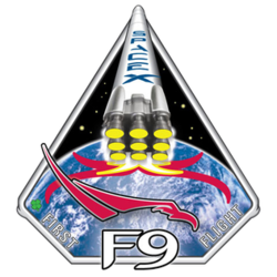 Falcon 9 Flight 1 mission emblem.png