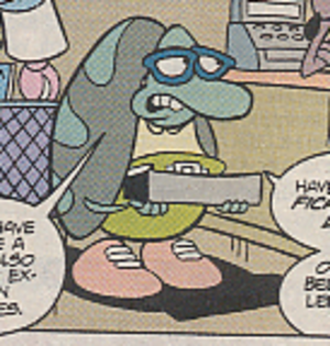 Filburt - Filbert in the Rocko's Modern Life comic book series