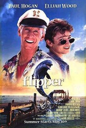 Flipper (1996 film) - Theatrical release poster