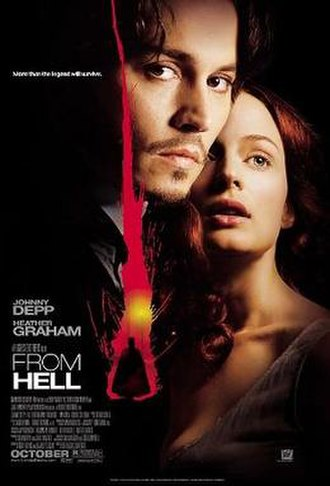 From Hell (film) - Theatrical release poster
