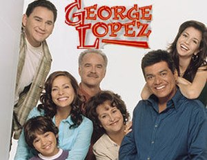 George Lopez (TV series) - The season 4 cast of George Lopez (from left to right): Valente Rodriguez as Ernie Cardenas, Constance Marie with Luis Armand Garcia as Angie and Max Lopez, Emiliano Díez as Vic Palmero, Belita Moreno as Benny Lopez, George Lopez, and Masiela Lusha as Carmen Lopez.