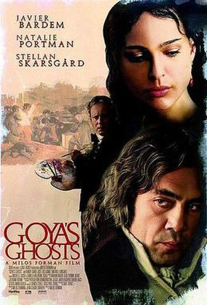 Goya's Ghosts - Promotional poster for Goya's Ghosts