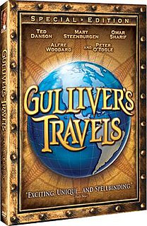 <i>Gullivers Travels</i> (miniseries) 1996 film directed by Charles Sturridge