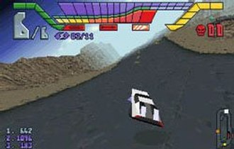 Hi-Octane - Hi-Octane screenshot on Sega Saturn