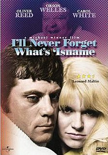 <i>Ill Never Forget Whatsisname</i> 1967 film by Michael Winner