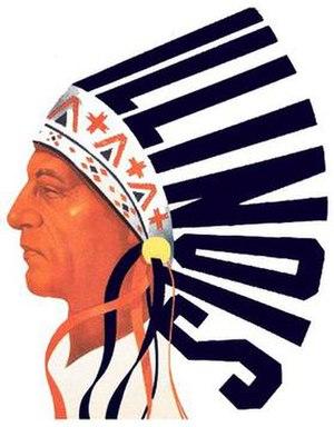 1947 Illinois Fighting Illini football team - Image: Illinois Fighting Illini primary logo 1947 1956