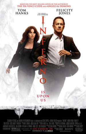 Inferno (2016 film) - Theatrical release poster