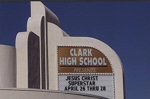Ed W. Clark High School - Image: JCS Clark High