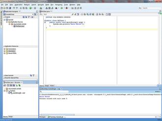 JDeveloper - Image: J Developer 11g