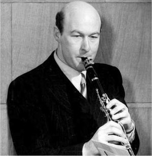 Jack Brymer - Brymer in the 1950s
