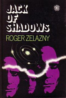 <i>Jack of Shadows</i> novel by Roger Zelazny