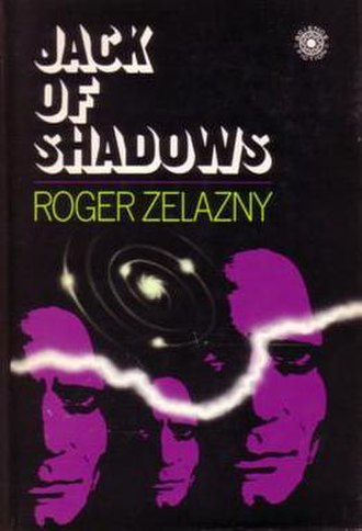 Jack of Shadows - Cover of first edition (hardcover)