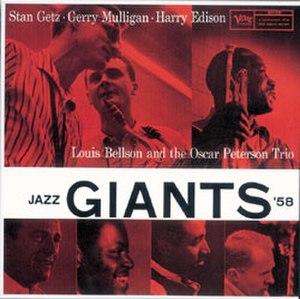 Jazz Giants '58 - Image: Jazz Giants 58
