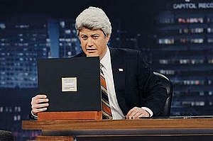 Jimmy Kimmel Live! - Kimmel performed an entire show in character as Jay Leno during the 2010 Tonight Show conflict.