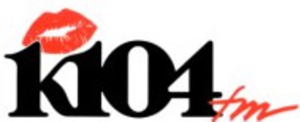 KKDA-FM - Former K104 logo used from the mid-1990s to 2010
