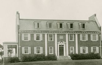 Kappa Sigma - The Kappa Sigma chapter house at the University of New Hampshire in 1923.