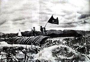 Roman Karmen - De Castries' bunker in Вьетнам, 1955