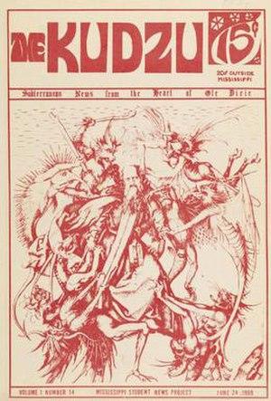 Kudzu (newspaper) - Cover of the June 24, 1969 issue