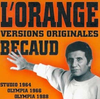L'Orange (song) - Image: L'orange (Gilbert Bécaud)