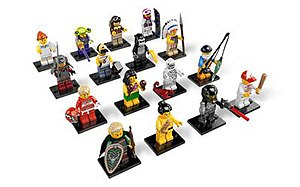 Lego Minifigures (theme) - The 16 units in Series 3