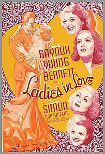 <i>Ladies in Love</i> 1936 film by Edward H. Griffith