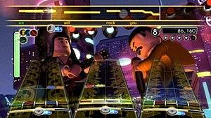 Lego Rock Band - Image: Lego Rock Band gameplay