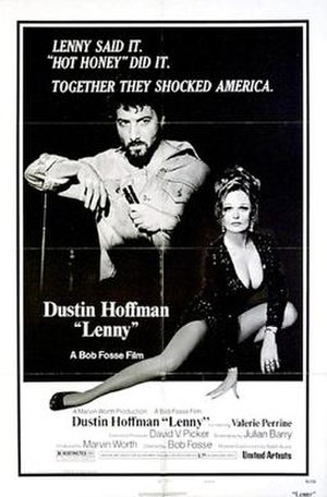 Dustin Hoffman - Poster from the Film Lenny (1974)