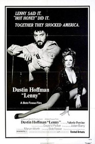 Lenny (film) - Original movie poster