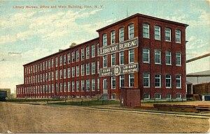 Library Bureau - Library Bureau office and factory, Ilion, NY, 1911