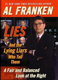<i>Lies and the Lying Liars Who Tell Them</i> book by Al Franken