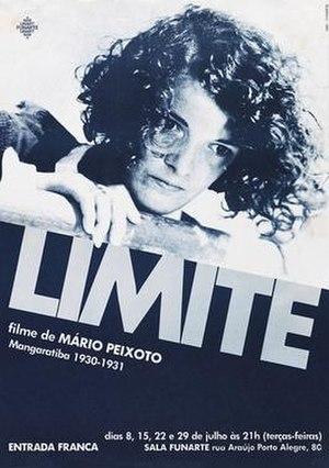 Limite (film) - Image: Limite Poster