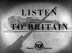 Listen to Britain - Title card