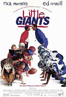 Little giants movie.jpg. Theatrical release poster d7492e878