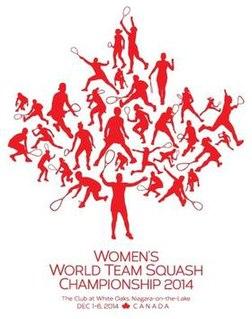 2014 Womens World Team Squash Championships