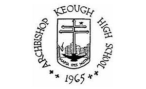 Seton Keough High School - Emblem of the former Archbishop Keough High School