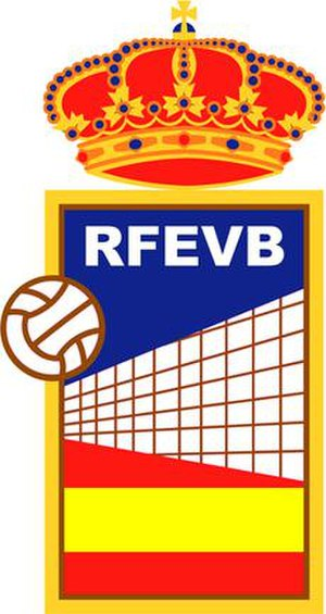 Spain men's national volleyball team - Image: Logo rfevb