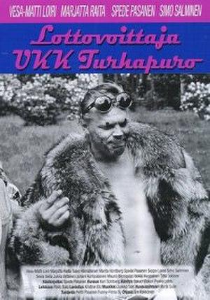 Lottovoittaja UKK Turhapuro - DVD cover.