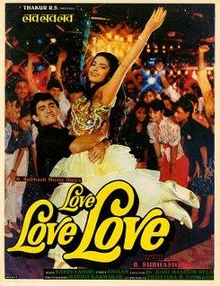 <i>Love Love Love</i> (1989 film) 1989 Indian film