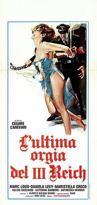 Gestapo's Last Orgy - Image: Lultima orgia del iii reich italian movie poster md