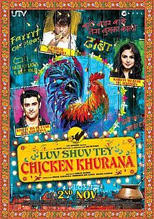 Watch  LUV SHUV TEY CHICKEN KHURANA (2012) online